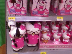 HELP! HELLO KITTY IS STALKING ME !